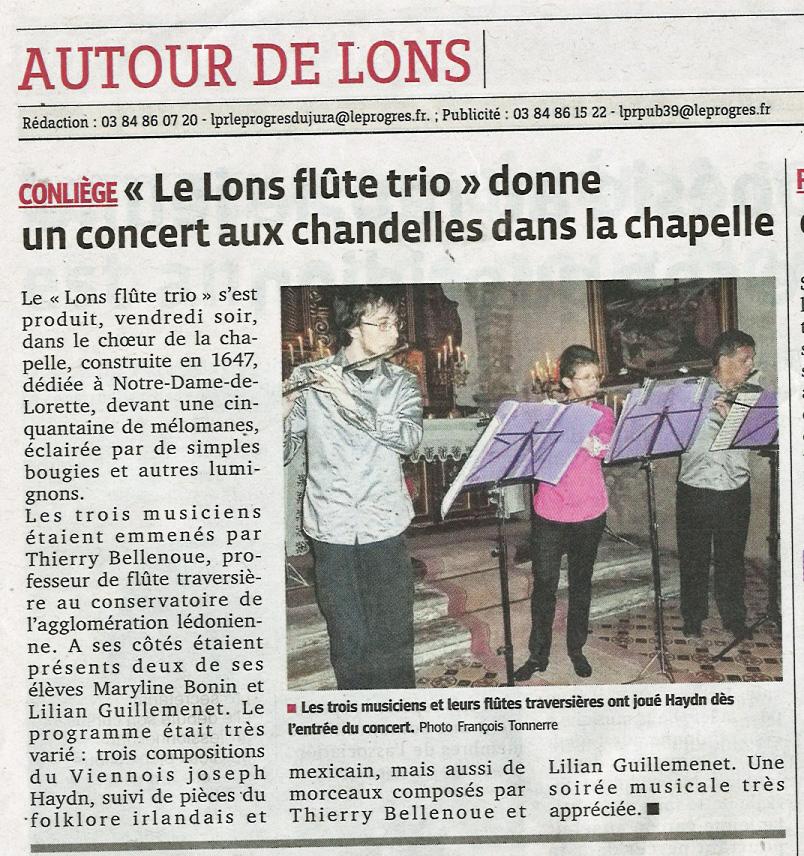 CONLIEGE 2014 - Le Progrès