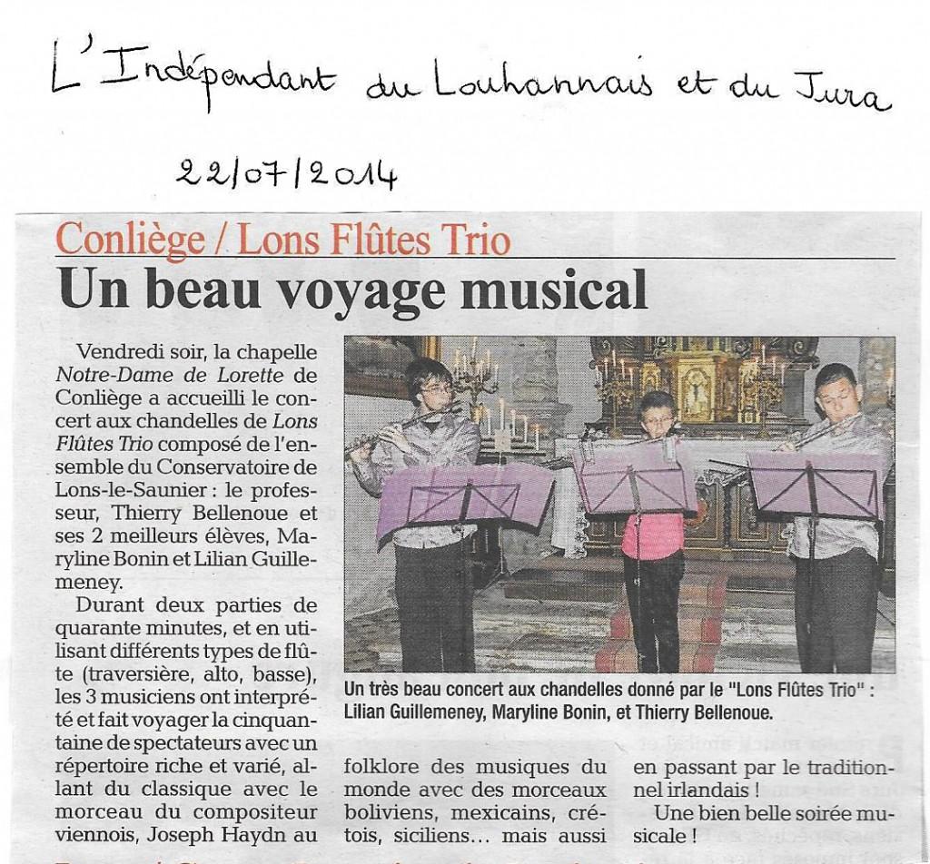 Concert Conliege 22.07.2014