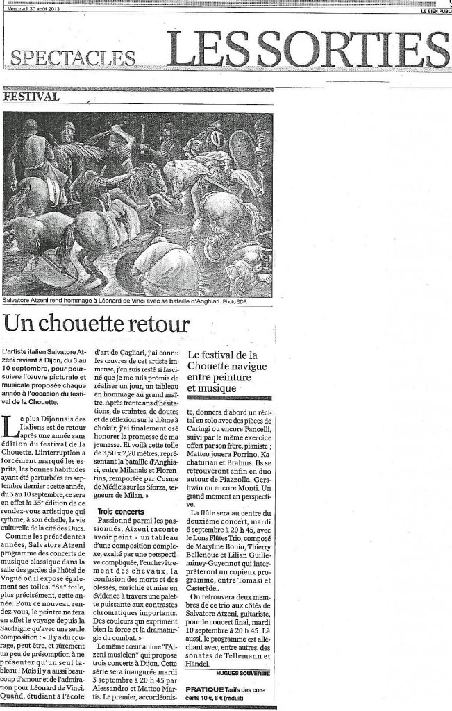 Concert Dijon 06.09.2013
